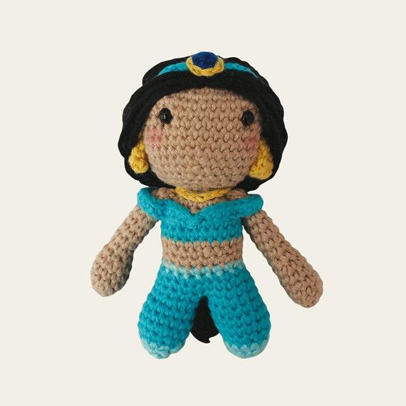 Jasmine - Disney Princess. Amigurumi Pattern PDF.