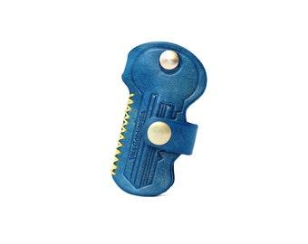 Leather Key Holder T.REX Women's Men's Unisex Handmade , Designer Key Holder T.REX on Sale