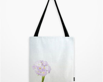 BAG FABRIC BAG, bags, art and photography, pastel, Art Print flower