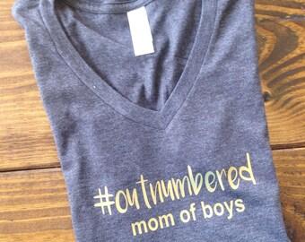 Boy mom tshirt, mom of boys tee, boymom tee, mom of boys shirt, boymama shirt, mothers day shirt, mom shirt