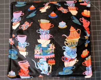 Tea Party Print Soup Bowl Cozy