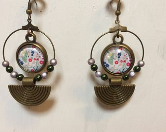 Ethnic inspired earrings