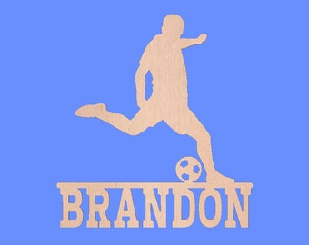 Soccer Personalized Wall Door Hanging Custom
