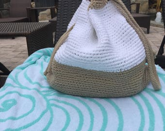 oversized crochet pool bag, oversized crochet spring/summer bag