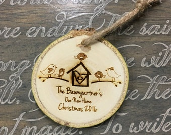 New Home Ornament | First Home Ornament | Our First Home Christmas Ornament | New Home Christmas Ornament | Housewarming Gift | Homeowner