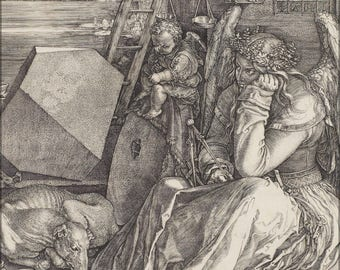 Poster, Many Sizes Available; Albrecht Durer Melencolia Iagddr3Ehmngya