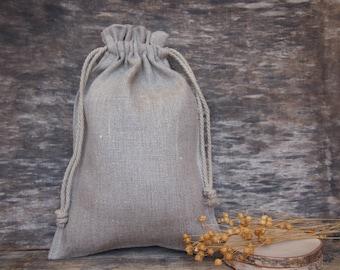 Linen Gift Bags, Gift Bag, Wedding, Christening, Christmas Linen Gif bag, Various Size