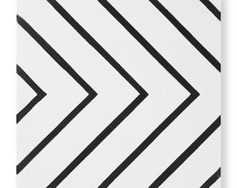 Cement Tile - Pattern: Maya White
