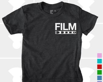Film Camera Shirt - Boys Shirt, Girls Shirt, Baby, Toddler, Youth Graphic Tee - Baby Camera Shirt - Boys Clothing - Girls Clothing