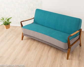 50s sofa, couch, 60s, vintage (704063)