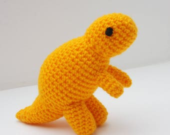 Yellow Baby T-Rex Toy