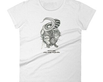 Moon Dog of Angkor Women's short sleeve t-shirt