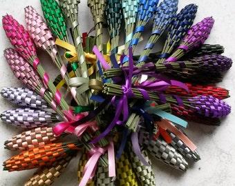 Lavender Wands - Ten (10) Small Batons English Lavandula 'Provence' FREE SHIPPING USA