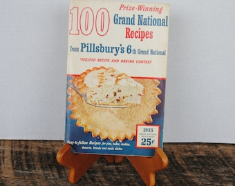 Vintage Pillsbury's 100 Prize Winning 6th Grand National Recipes 1955