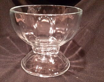 condiment dish by Libbey Glass, made in Mexico