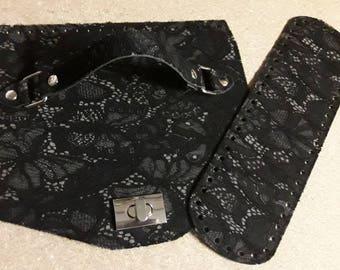 Black lace Set patella/Bottom