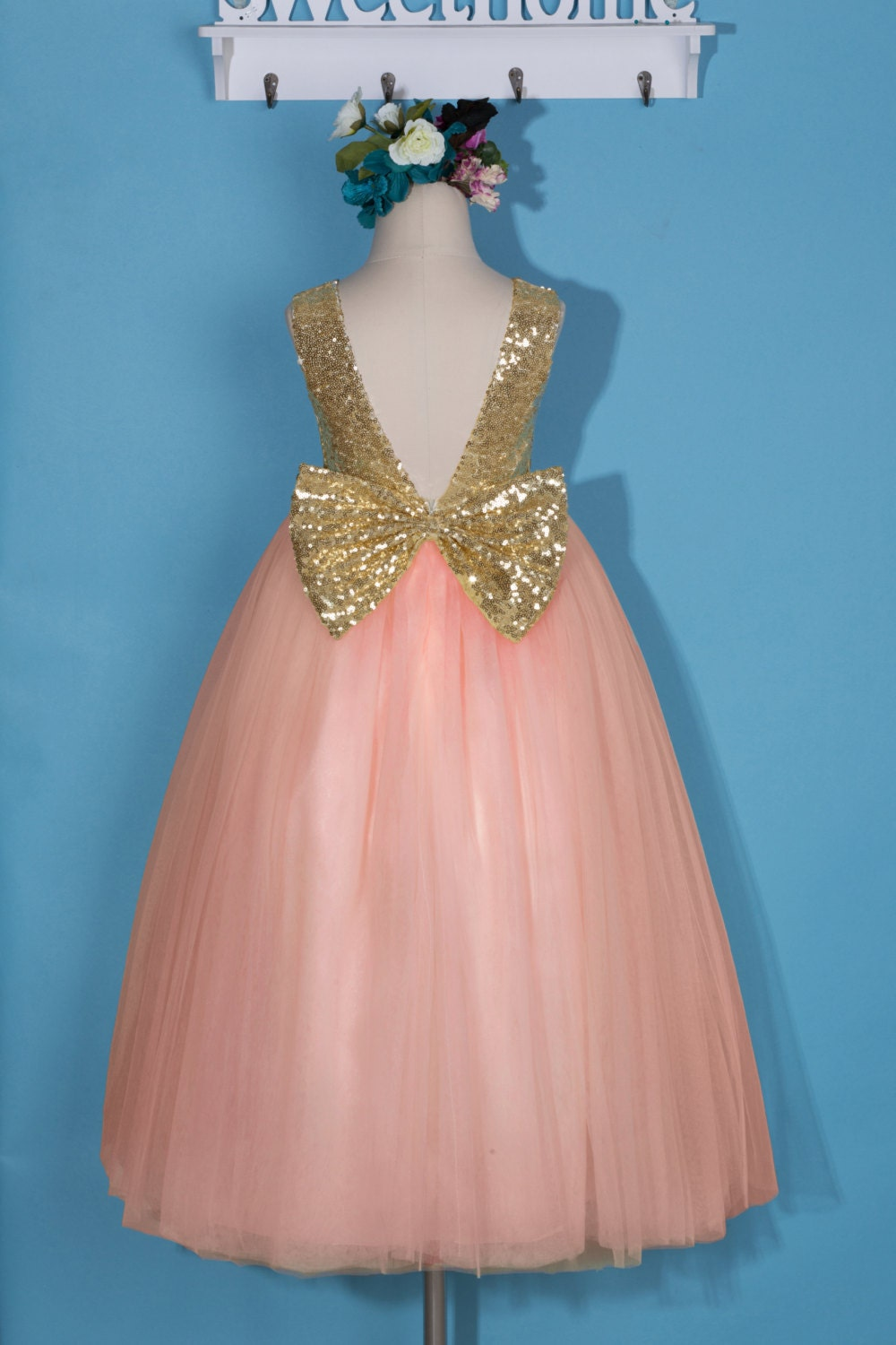Old Fashioned Pink Sequin Party Dress Pattern - All Wedding Dresses ...