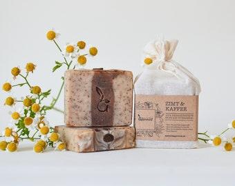 CINNAMON COFFEE 100% Natural Handmade Soap from Austria