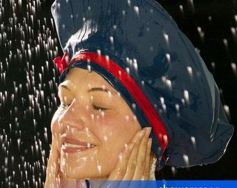 Shower Cap - Royally Blue Beret - Shower Hat for MEN & WOMEN