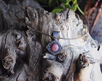 Carolyn Pollack Relios Rhodonite pendant