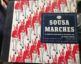 Sousa Marches by the American Legion Band of Hollywood, Calif. - 1947