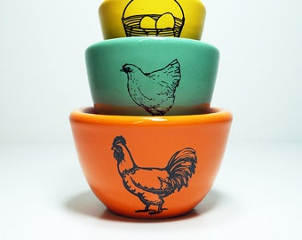 The Urban Set of  Fresh Eggs.  Made to Order.