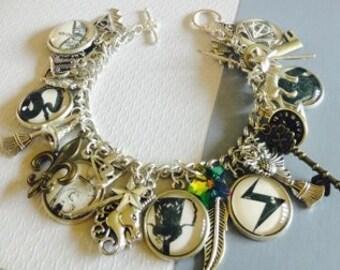 The 7 Horcruxes Harry Potter Hogwarts Charm Bracelet