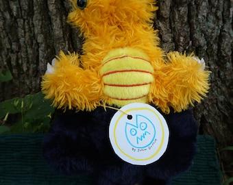 Karak. FrankenFuzzie, Soft Sculpture, Stuffed Animal, Toy, Bendy Eyes