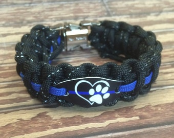 """K9 Police Officer bracelet 