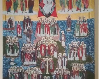 All Saints of the British Isles