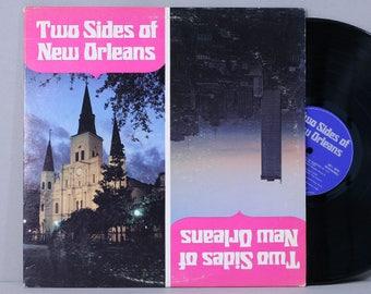 Two Sides Of New Orleans - Various Artists - Vintage Vinyl Record Album 1972 Louisiana Tourist Development Commission