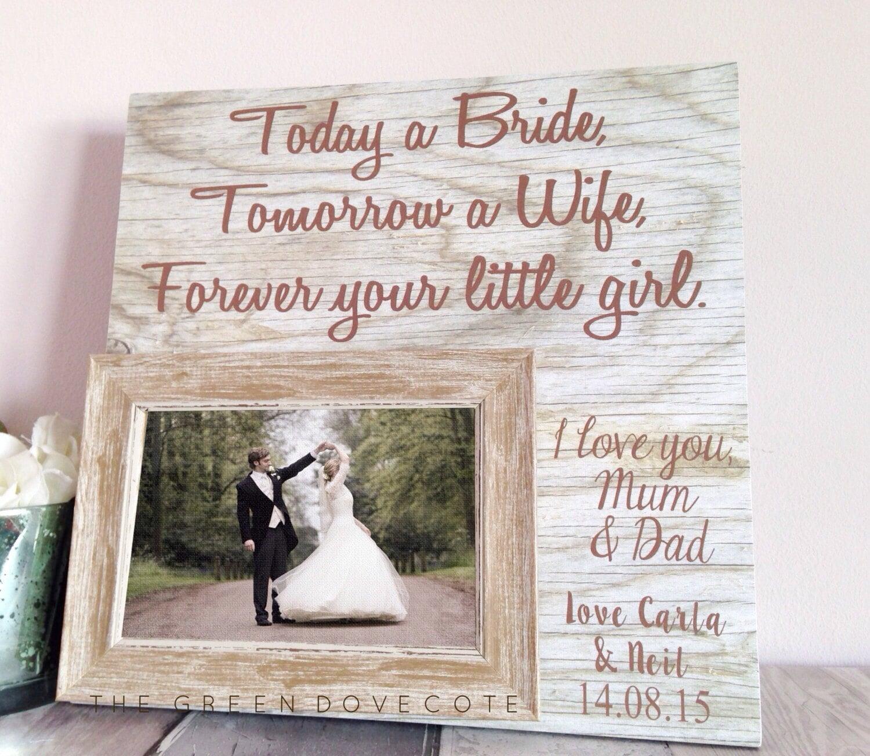 Eltern die Hochzeit Geschenk heute eine Braut Hochzeit