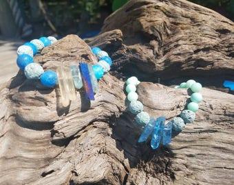 Peaceful crystal bacelet