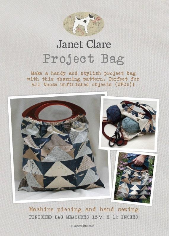 Projekt-Tasche-Schnittmuster ein zauberhaftes Muster für