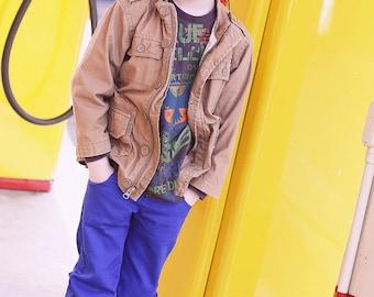 Skinny Jeans PDF Pattern: Girls Pants Pattern, Boys Pants Pattern, Baby & Toddler Pants Pattern, Doll Jeans Pattern