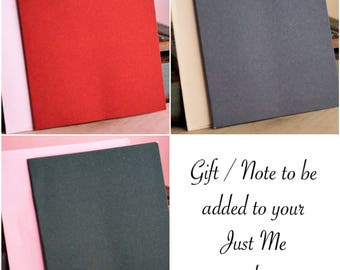 Add a personal gift card / Note card / Hand written gift card / Hand Written Note Cards / Only for 'Intentionally Me' customers