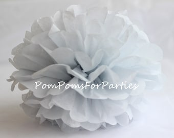 Silver Moon Tissue Pom Pom - Choose any of 50 colours - Hanging  Paper flower - Tissue paper balls - Tissue paper pom poms