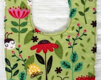 Ladybug & Bees Bib