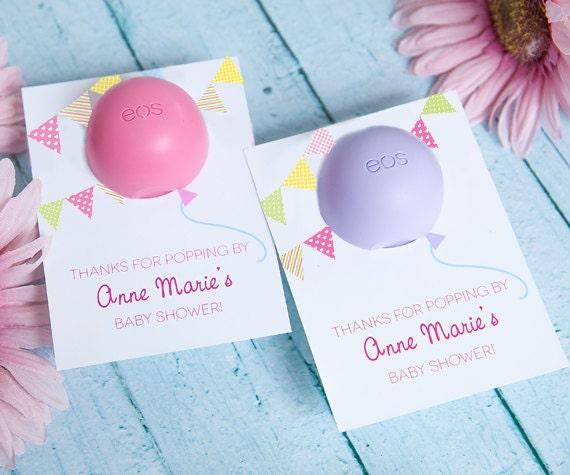 Baby Shower Favor For Eos Lip Balm Balloon Eos Balm Holder