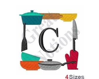 Monogram C - Machine Embroidery Design