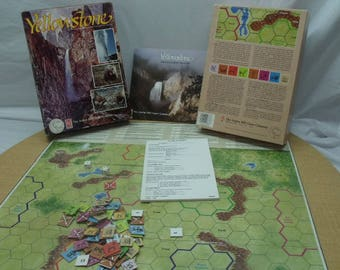 Yellowstone Board Game