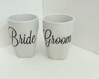 Weddng mugs