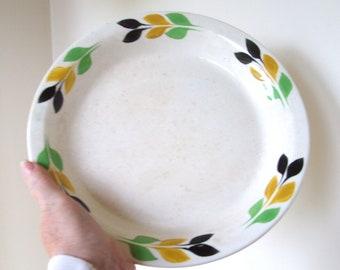 Old Primitive Pie Plate