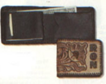 Leather Deluxe Billfold With Passcase Project Kit