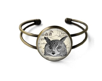 Vintage Owl Bracelet