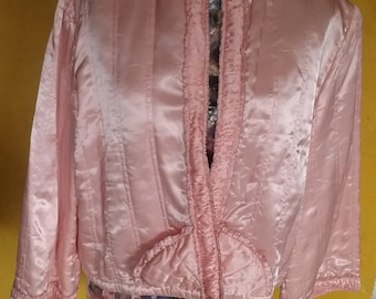 50s 'Fairy Ring 'bed jacket