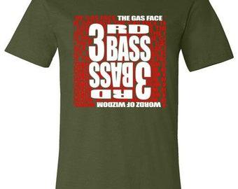 Old school hip hop 3rd Base t-shirt