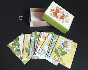 Feld viel Vintage-Gruß-Karten, Geburtstagskarten, Baby-Dusche, Jahrestag, beste Wünsche, Hochzeit
