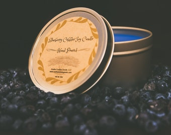 Blueberry Cobbler Soy Tin Candle