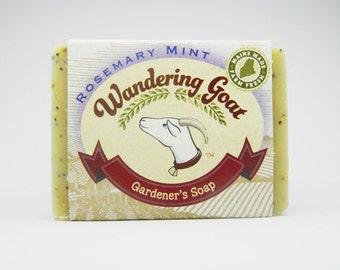 Gardener's Soap Rosemary Mint